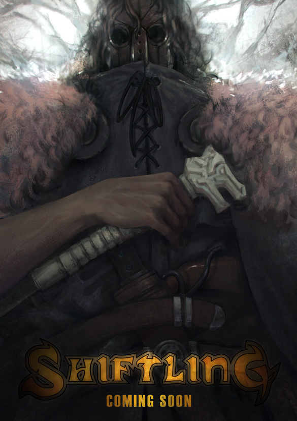 A poster of the Hunter from Shiftling